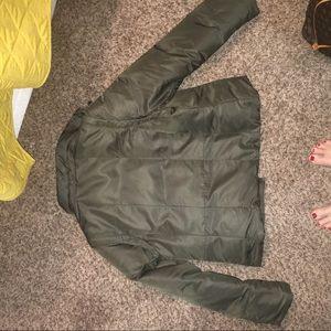 1 Madison Olive Green puffer jacket